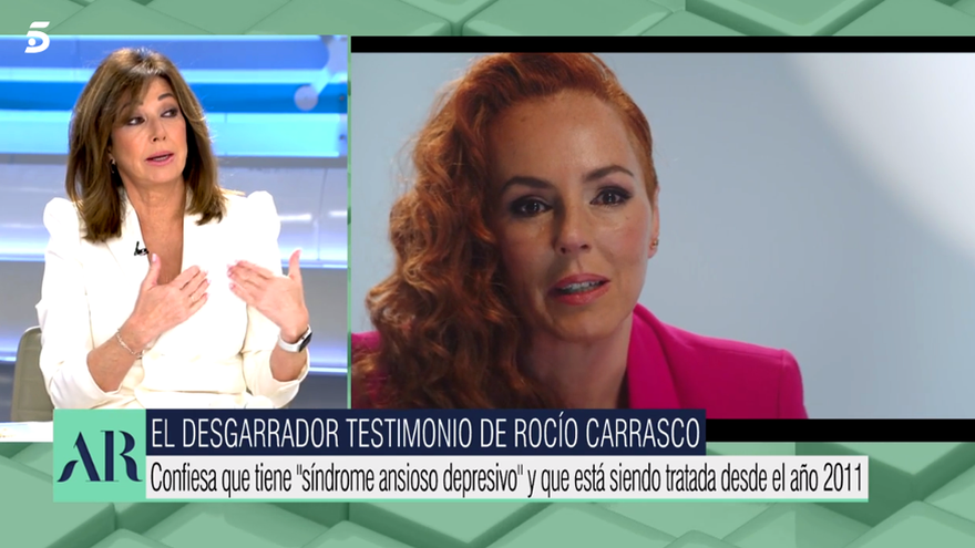 Ana Rosa Quintana analiza las declaraciones de Rocío Carrasco