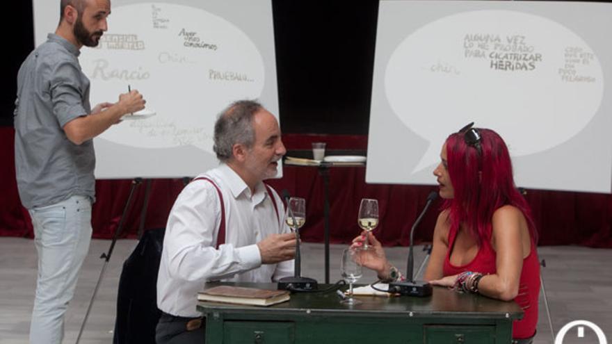 Las palabras del vino FOTO: MADERO CUBERO