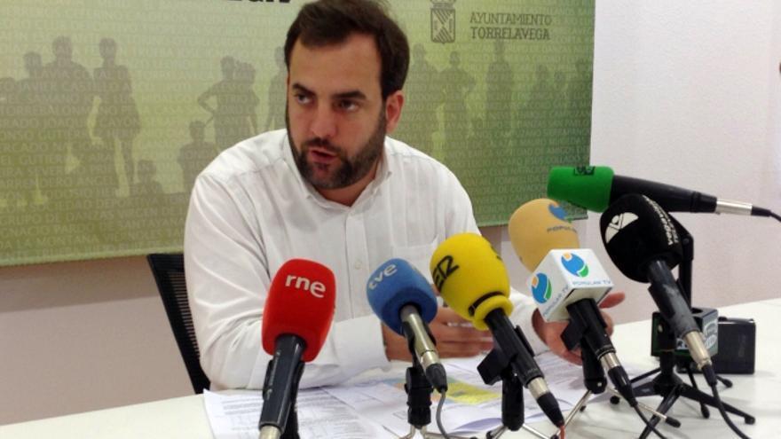 Jose Otto Oyarbide, concejal del Ayuntamiento de Torrelavega