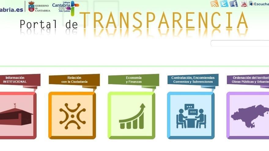 El Portal de Transparencia del Gobierno de Cantabria PRC-PSOE recibe 10.000 visitas al mes en su primer año