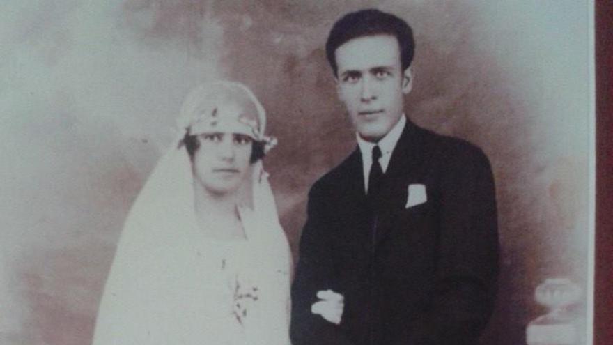 Francisco Rodríguez Betancor y Consuelo Acosta