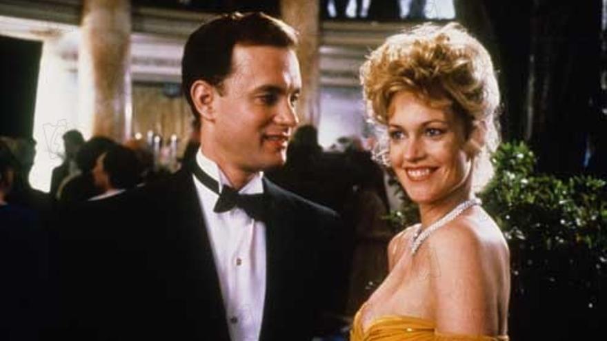 Melanie Griffith y Tom Hanks en La hoguera de las vanidades