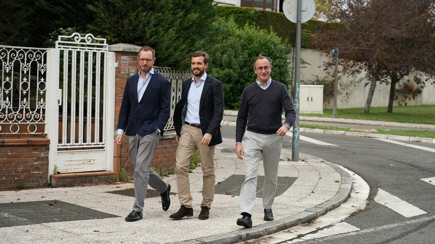 """Maroto expresa su reconocimiento a Alonso tras su dimisión y dice que """"todo el PP vasco"""" apoyará el nuevo proyecto"""