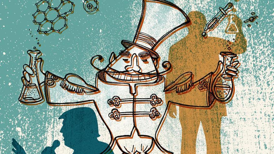 Circo o ciencia Ilustración de Yoana Novoa. Febrero de 2017