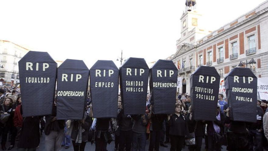 Manifestación en Madrid (2013) EFE