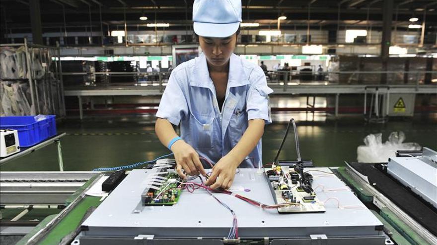 El PMI oficial de diciembre muestra el crecimiento de la industria china