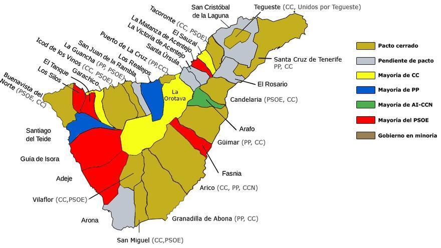 87 Ayuntamientos De Canarias Se Constituyen Este Sabado