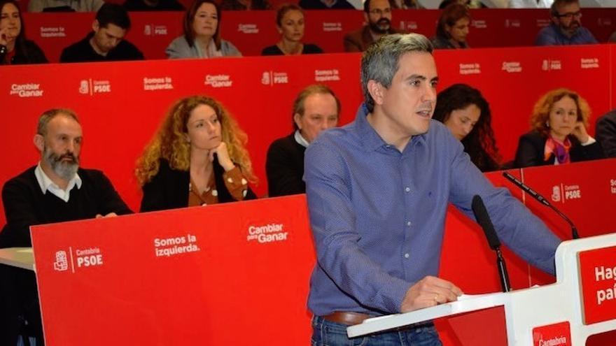 """Zuloaga asegura que """"las urnas se llenarán de votos socialistas"""" porque """"tenemos los mejores candidatos"""""""