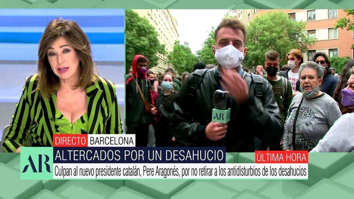 Ana Rosa Quintana y Miquel Valls, en 'El programa de AR'