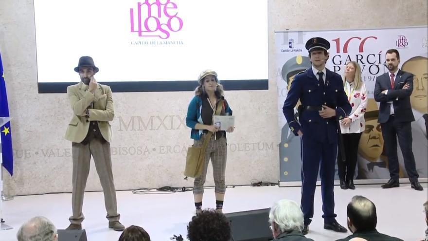 Presentación Centenario García Pavón en FITUR