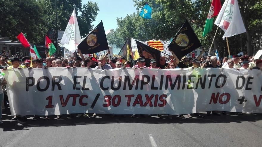 El Gobierno Vasco reforzará el control y establecerá un distintivo específico para los VTC