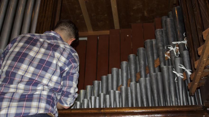 El órgano es un gran instrumento con cientos de tubos pero muy sensible a la vez. (CIRENIA VICO)