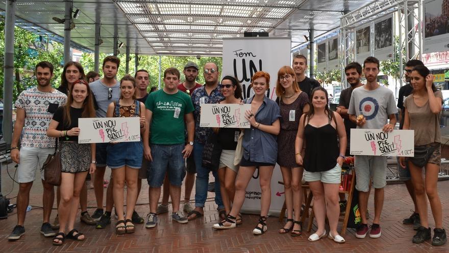 Entidades de jóvenes de izquierda inician una campaña por un referéndum vinculante el 1-O