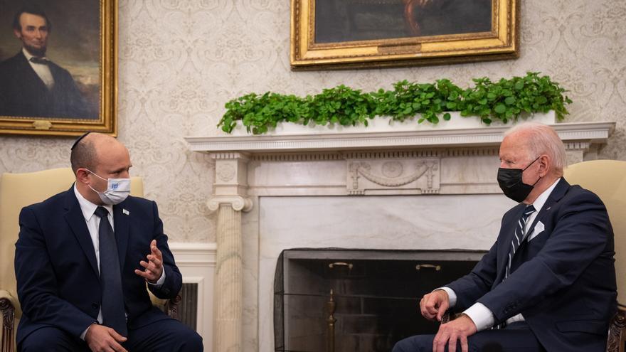 Biden dice a Israel que adoptará otras opciones si la diplomacia falla con Irán
