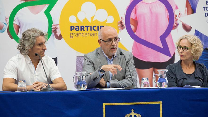 Presentación del portal de participación ciudadana del Cabildo de Gran Canaria.