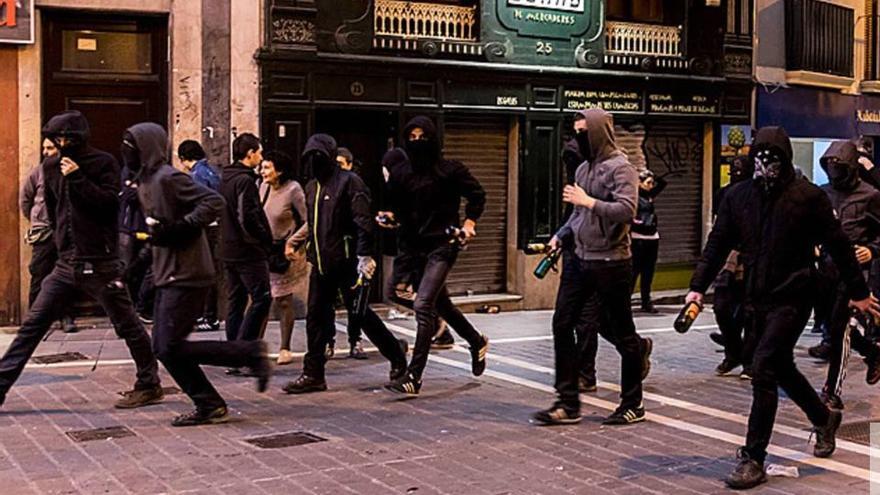 Incidentes de este fin de semana en Pamplona