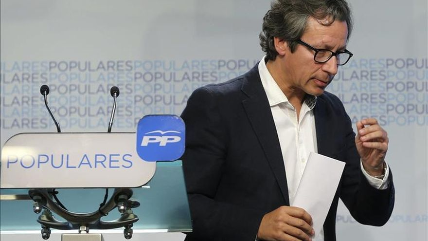 """Floriano teme por las políticas de """"extrema izquierda"""" en Madrid y Barcelona"""