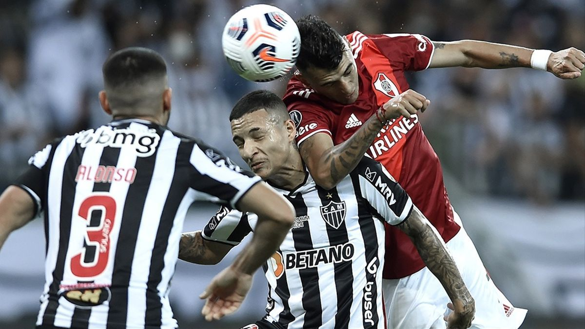 River perdió con Atlético Mineiro en la Libertadores