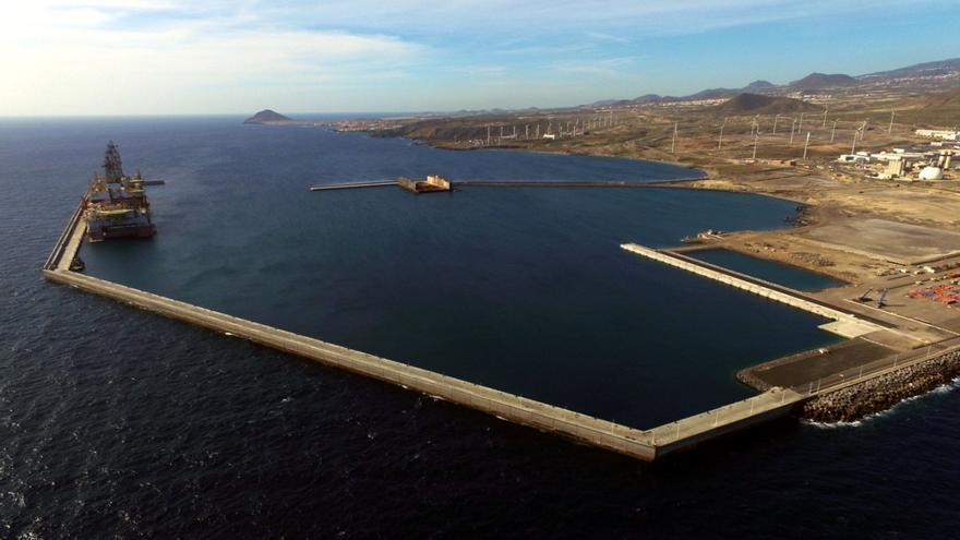 Imagen de archivo del puerto de Granadilla, en el sur de Tenerife