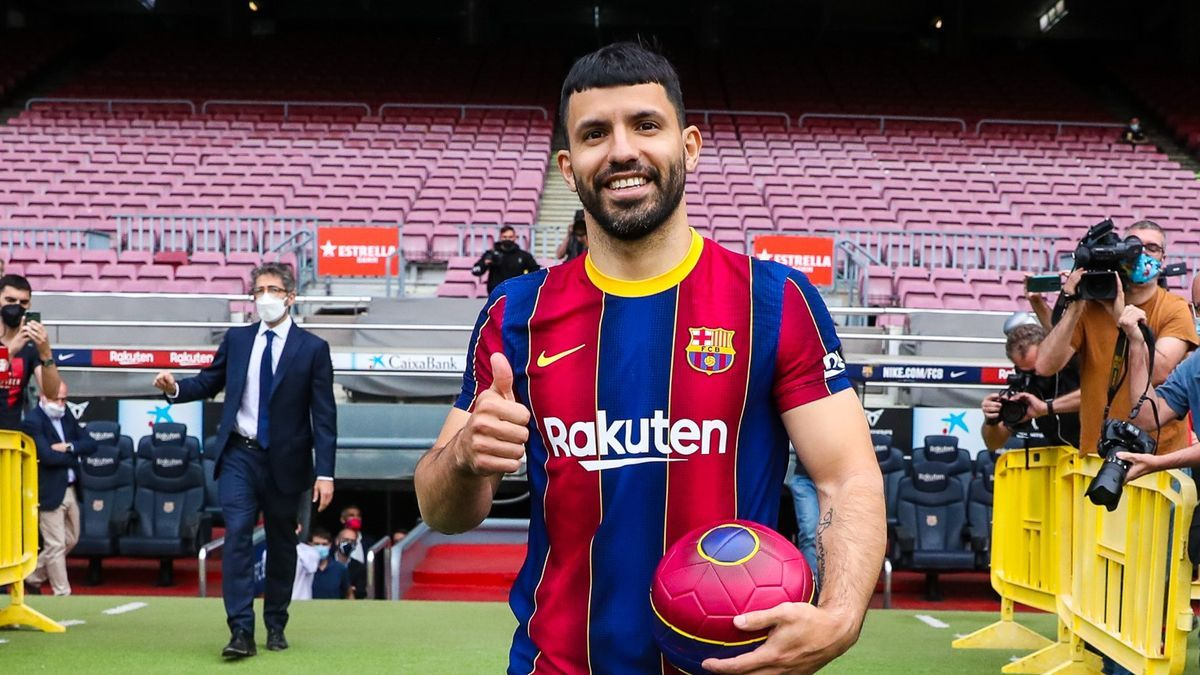 El Kun ya es jugador del Barcelona