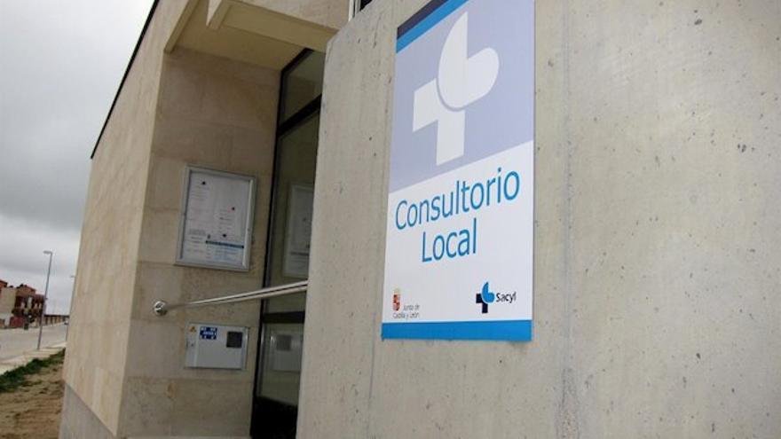 Un consultorio local de Castilla y León en una imagen de archivo.