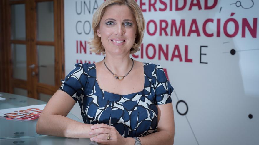 La rectora de la Universidad Europea de Canarias, Cristiana Oliveira