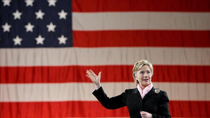 Hillary Clinton sigue a la cabeza en la lucha demócrata para aspirar a la Casa Blanca