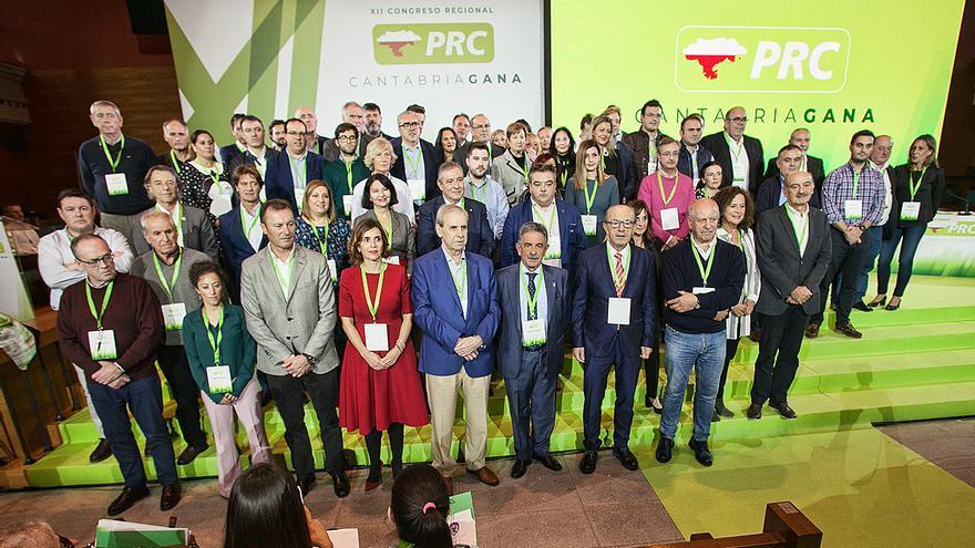 Ejecutiva Regional del PRC tras el XII Congreso Regional del partido.