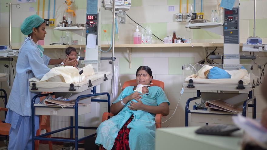En India, faltan hospitales y especialistas sobre todo en zonas rurales
