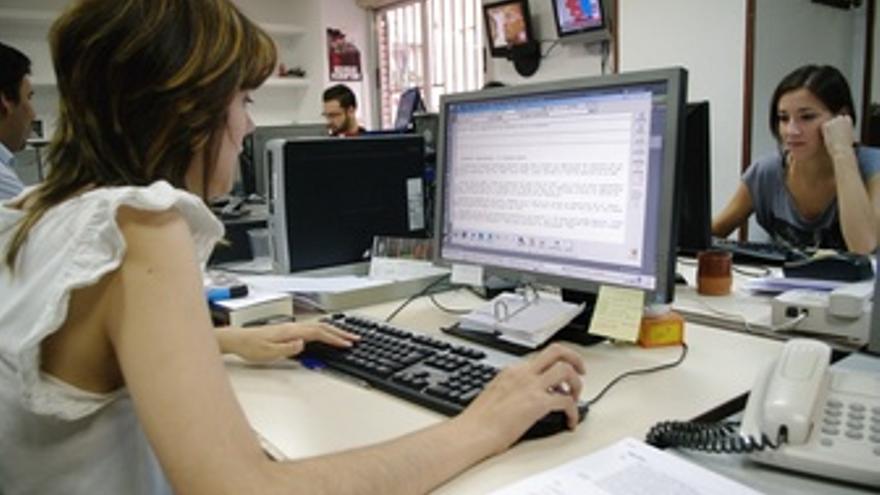 Oficina, Trabajadores, Empleados