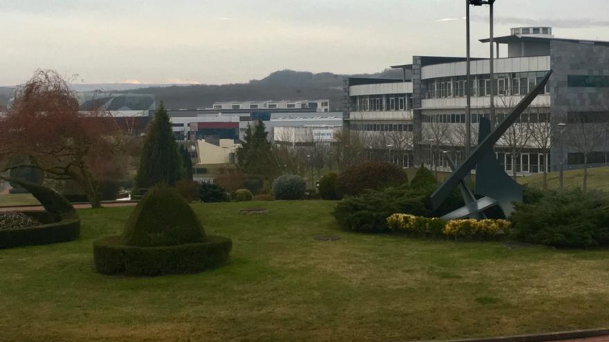 Vista general del parque tecnológico de Miñano