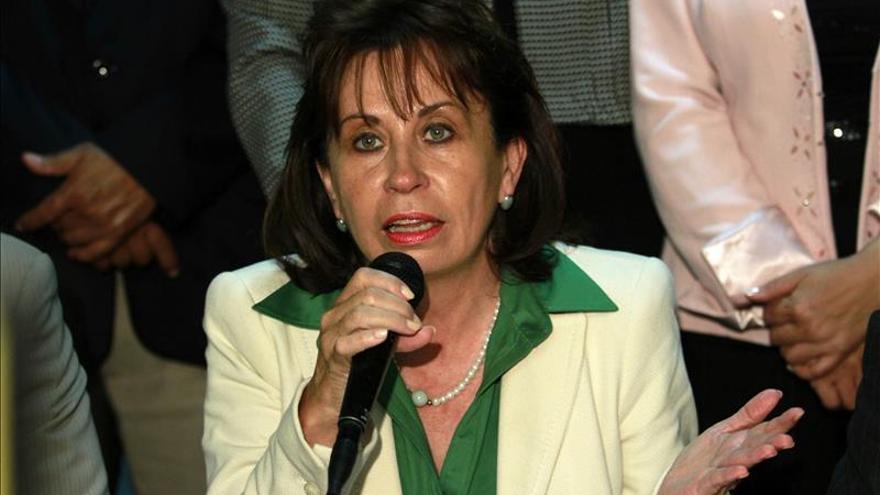 Exprimera dama de Guatemala se inscribe como candidata a la Presidencia