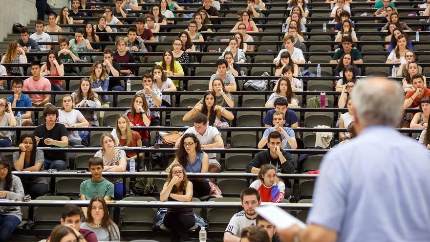 Un total de 2.926 estudiantes se examinarán en la UPNA de la Evaluación de Bachillerato para el Acceso a la Universidad