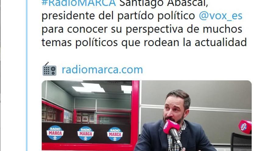 radio marca abascal