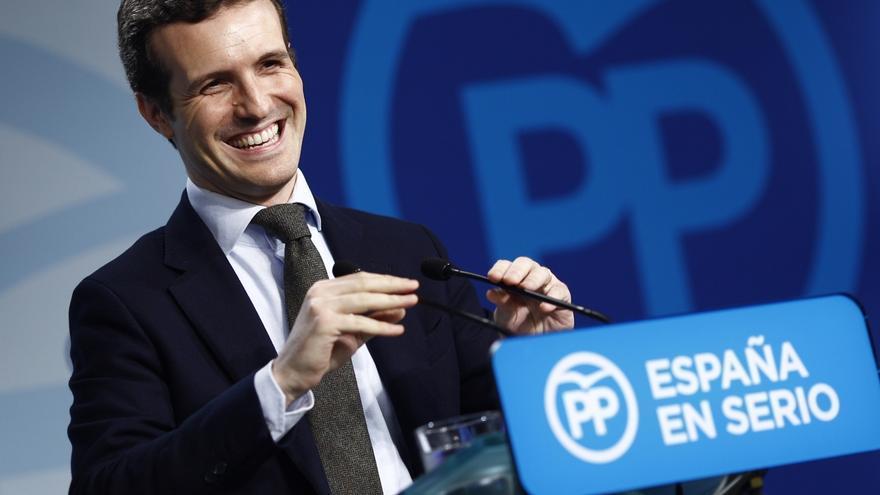 Pablo Casado participará este jueves en Santander en una reunión de diputados del PP de Cantabria