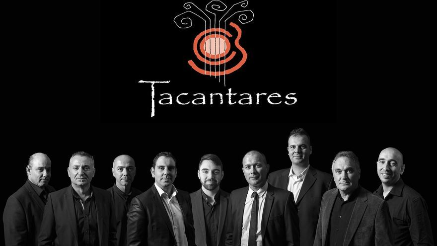 El grupo palmero Tacantares.
