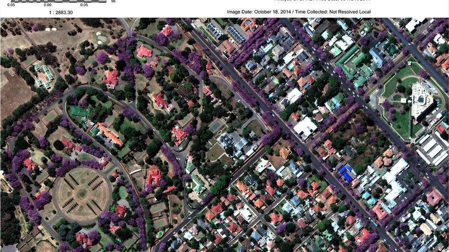 Las imágenes tomadas por satélites sirven de prueba ante una masacre