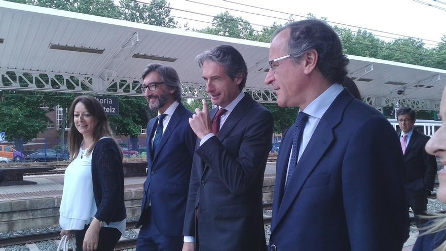 De la Serna anuncia que las obras del soterramiento del TAV en Vitoria estarán finalizadas en el año 2023