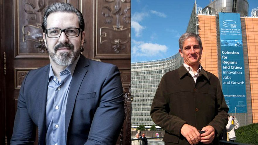 José Carlos Gallardo y Álvaro López de Goicoechea