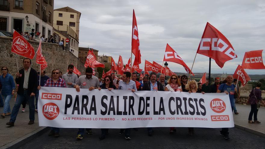 Manifestacion 1 de mayo en Toledo