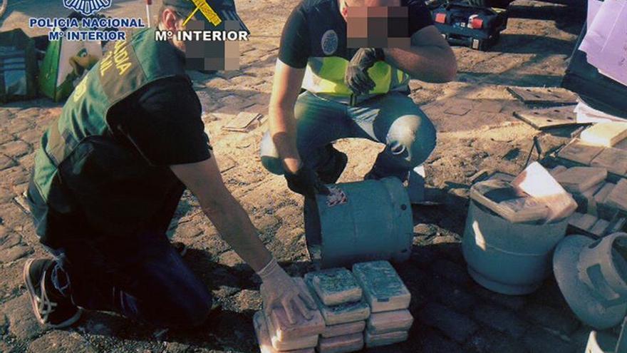 Operación contra el narcotráfico.