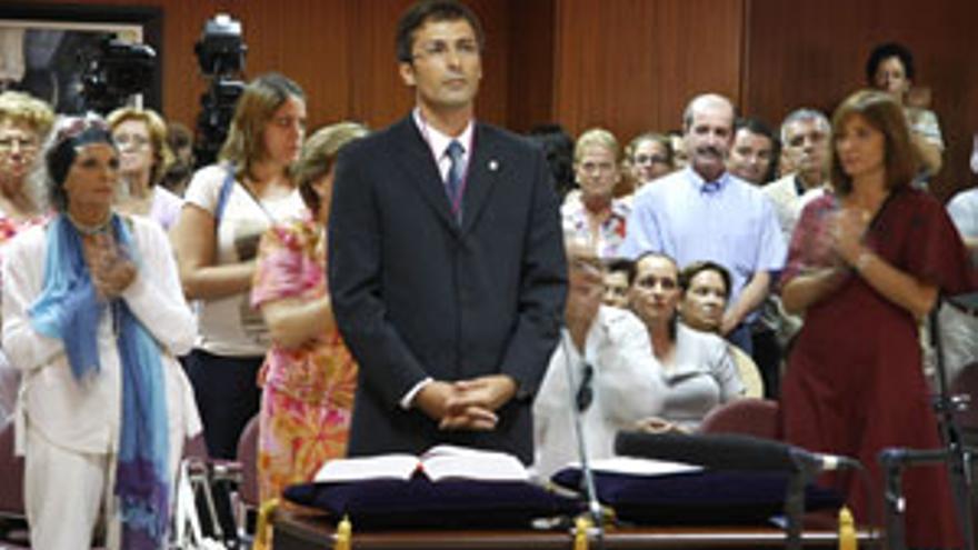Pedro San Ginés, nuevo presidente del Cabildo de Lanzarote. (ACFI PRESS)