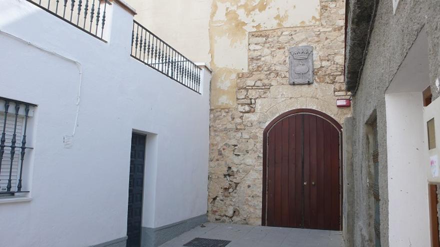 Entrada del Castillo de Pérez de Guzmán.