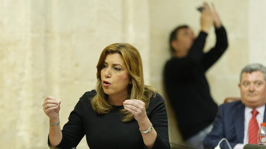 Susana Díaz asegura que el Gobierno central no le trasladó información sobre el ataque a Siria desde Rota