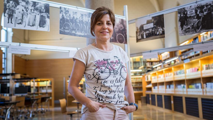 Belén Álvarez es periodista y guía de BTT.