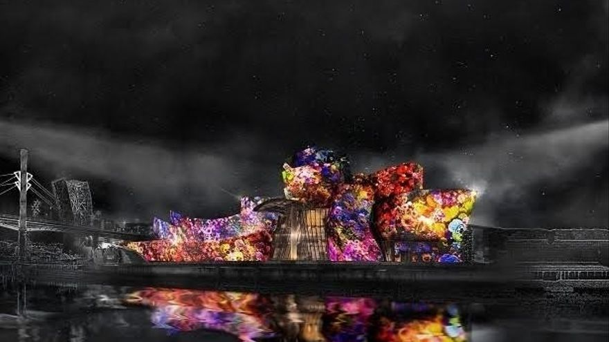"""El Guggenheim será pantalla de una """"espectacular proyección"""" de animación con """"color y sonido"""", del 11 al 14 de octubre"""