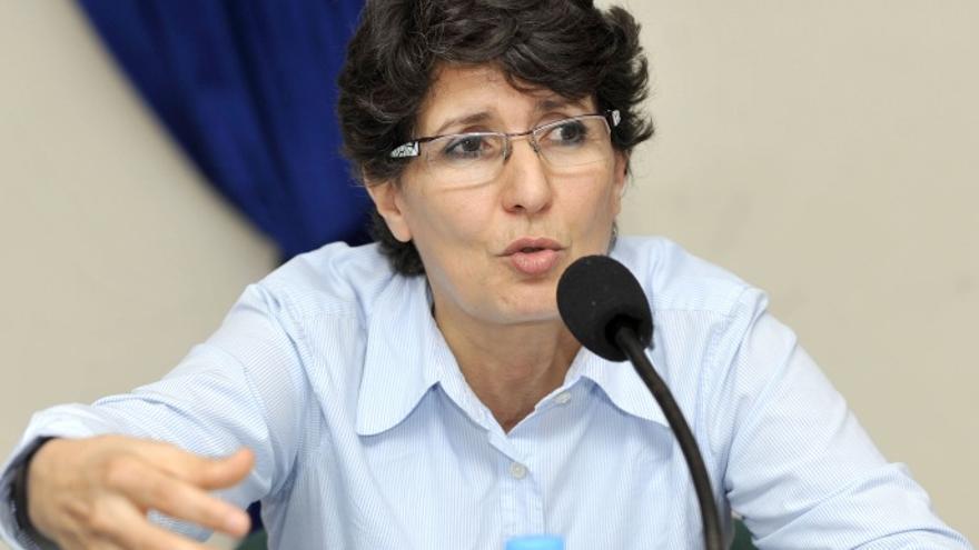 Khadija Ryadi, activista marroquí de derechos humanos   Imagen cedida