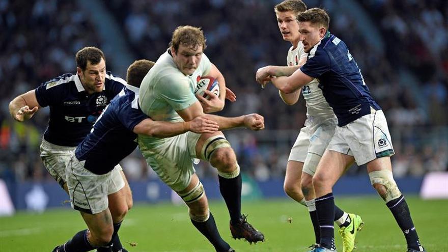 Rugby Inglaterra -Escocia