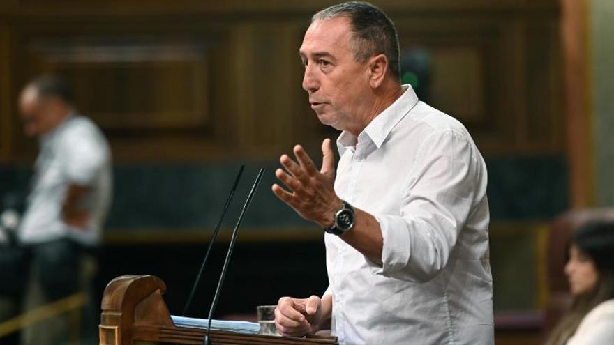 Joan Baldoví, diputado de Compromís en el Congreso