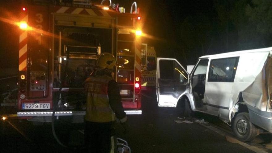 Siete muertos y 10 heridos en accidentes de tráfico durante el fin de semana
